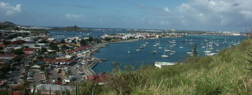 Marigot capitale de Saint Martin FWI
