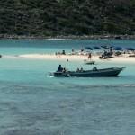 Saintoise et plage de l'ilet Pinel