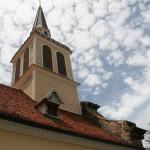 Clocher de l'église de Sainte-Anne
