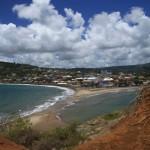 Tombolo - îlet Sainte Marie